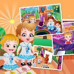 Bébé Hazel Learn Seasons