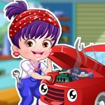 Baby Hazel Mechanic Dress Up