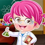 Baby Hazel Scientist