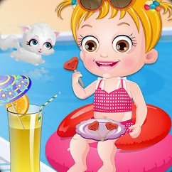 Baby Hazel Summer Fun