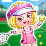 Baby Hazel Tennis Player