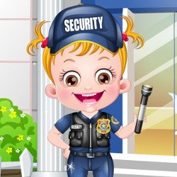 Baby Hazel Security Officer